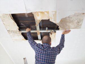 repair plaster ceiling