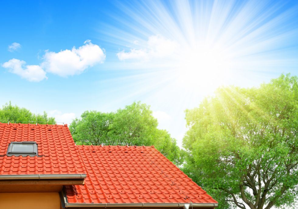 new restored roof